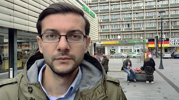 Politiker, Publizistinnen, hohe Richter – alle kommunizieren via Facebook; die Seite des Aktivisten Claudiu Craciun (Bild) wird oft angeklickt.