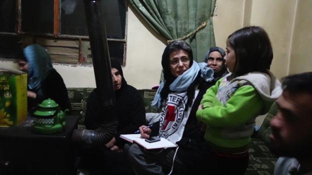 Die Schweizerin Marianne Gasser leitet die IKRK-Delegation in Syrien.