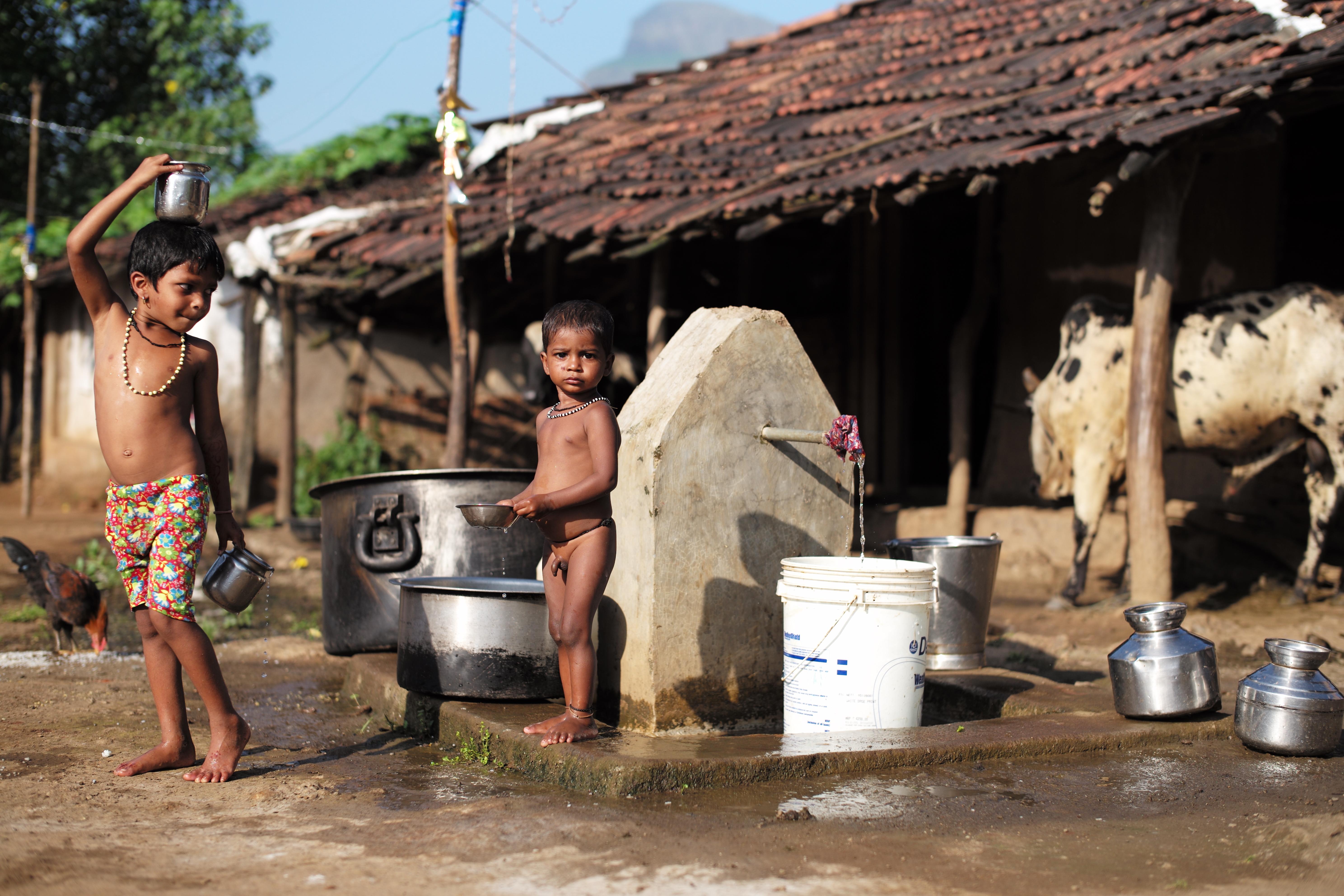 Dorf im indischen Gliedstaat Maharashtra