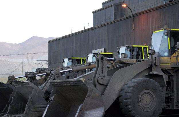 Eine der Minen von Codelco in Chile