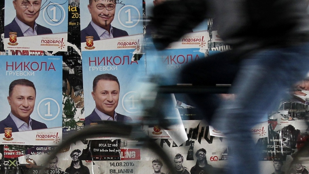 Der langjährige konservative Ministerpräsident Nikola Gruevski will wieder an die Macht.