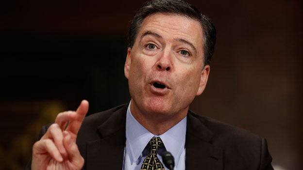 James Comey, Ex-FBI-Direktor der USA.