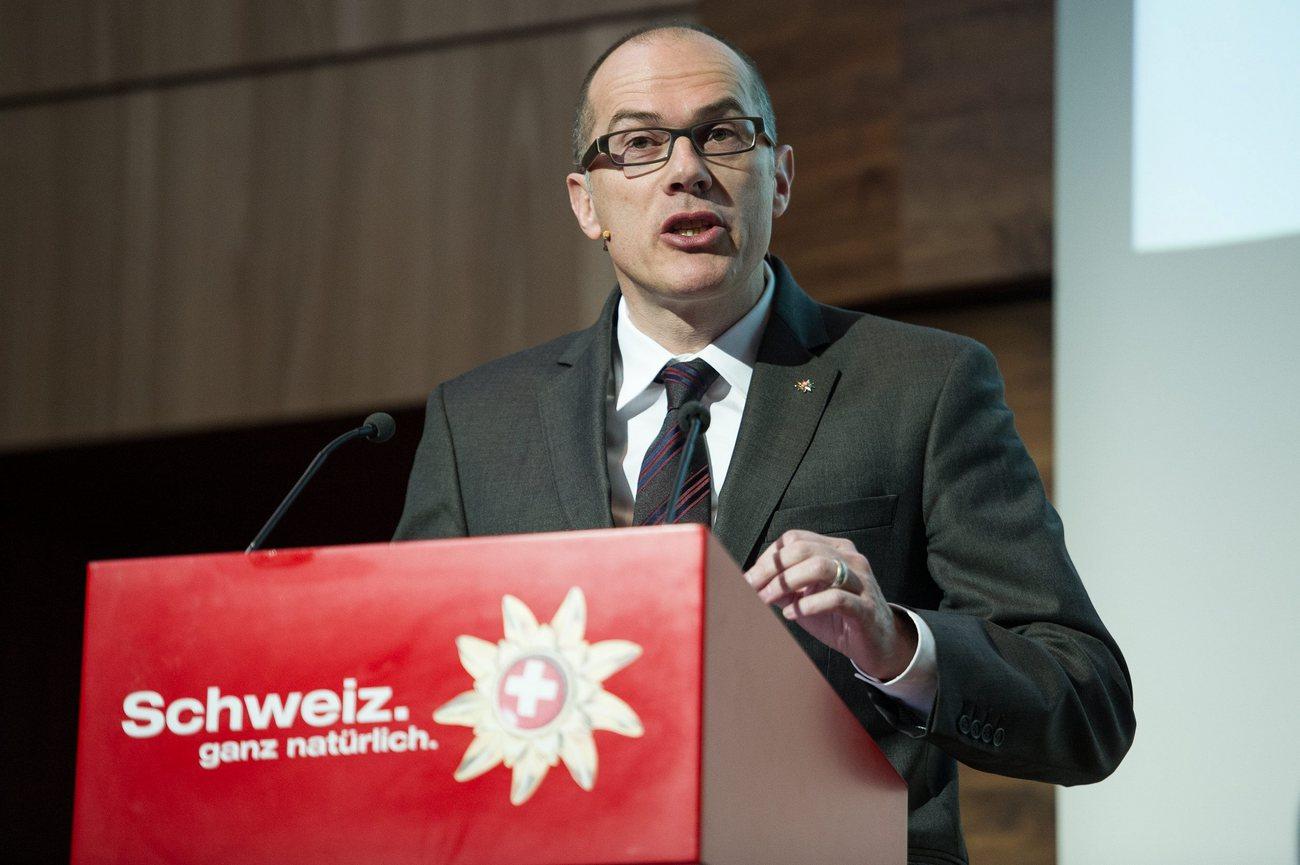 Schweiz Tourismus Direktor Jürg Schmid will kein zweites Kraftwerk am Rheinfall.