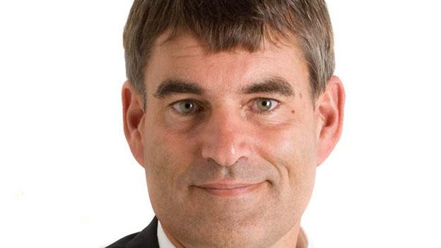 Christian Amsler, Präsident der Deutschschweizer Erziehungsdirektoren-Konferenz, präsentierte den Lehrplan 21.