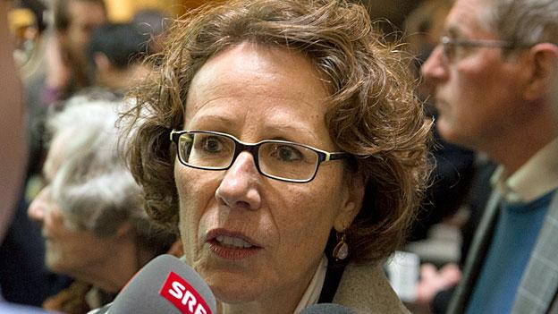 Die Luzerner SP-Kandidatin Felicitas Zopfi wird zwar von der CVP - der stärksten Partei im Kanton - offiziell unterstützt. Doch innerhalb der Partei tragen diesen Entscheid längst nicht alle mit.