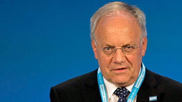 Bundespräsident Johann Schneider-Ammann.