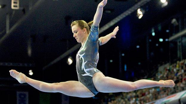 Ariella Käslin an den Europameisterschaften 2011 in Berlin.