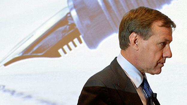 Noch-Chef des Zurich-Versicherungskonzern Martin Senn sagt, der Entscheid sei ihm nicht leichtgefallen, aber es sei Zeit für eine neue Führungspersönlichkeit.