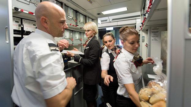 Traumberuf Flugbegleitung? Der Beruf ist sehr abwechslungsreich und eine Herausforderung.