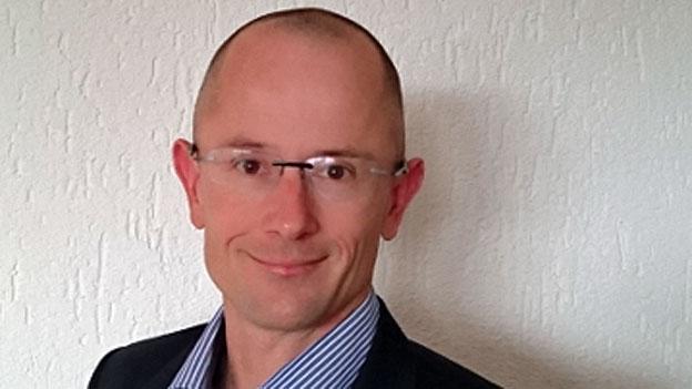 Mathias Bucher sieht Blockchain als Technologie der Zukunft.