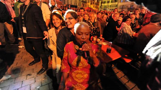 Die afrikanische Jazz-Sängerin war der Stargast des «Jazz meets Folklore 2011».