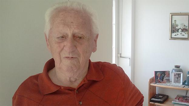 Der 88-jährige Hans Steffen lebt heute in der Hauserstiftung in Zürich.
