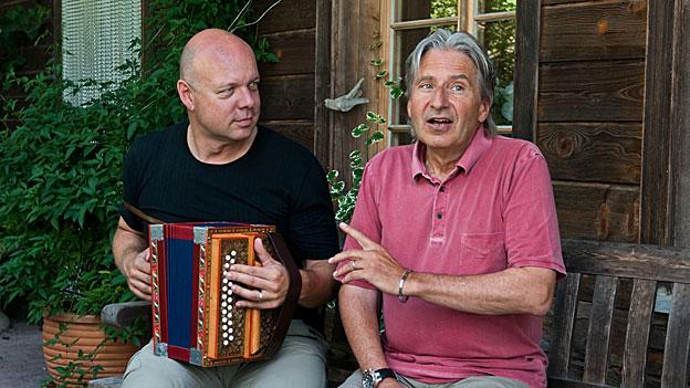 Thomas Aeschbacher und Roland Binz
