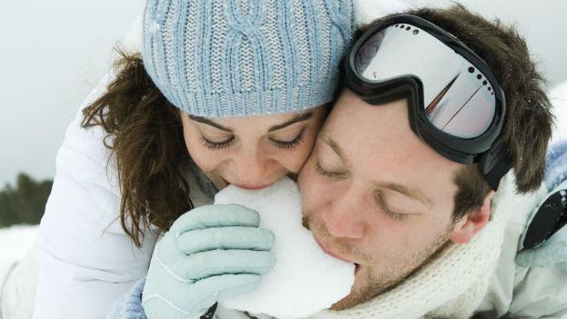 Ist Schnee essen ungesund?