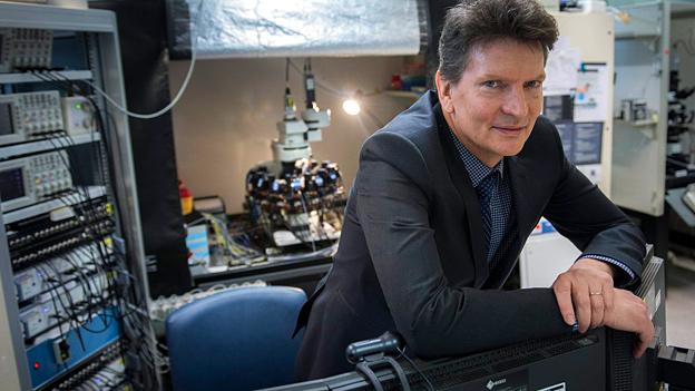 Henry Markram, Neurowissenschaftler und Co-Direktor des Human Brain Project an der ETH Lausanne.