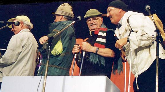 Cabaret Rotstift mit der Nummer «Am Skilift».