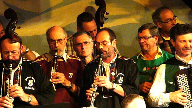Beim Ländlerkapellentreffen wird Ländlermusik zelebriert.