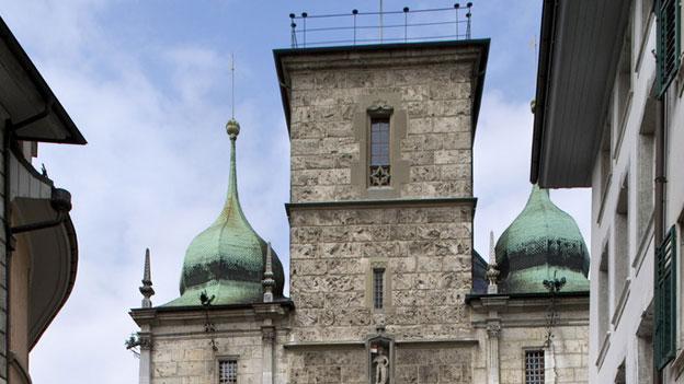 Wer zieht nächsten Frühling hier ein? Rathaus in Solothurn