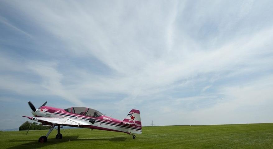 Auf dem Flugplatz Schupfart wird weiterhin auf Gras gelandet