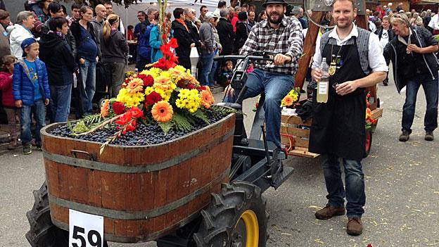 Das Döttinger Winzerfest gilt als grösstes Winzerfest der Deutschschweiz.