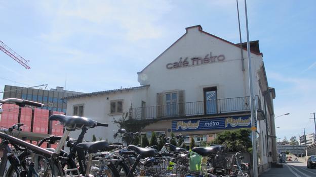 In diesem Gebäude hinter dem Bahnhof Aarau ermordete der Täter die Prostituierte.