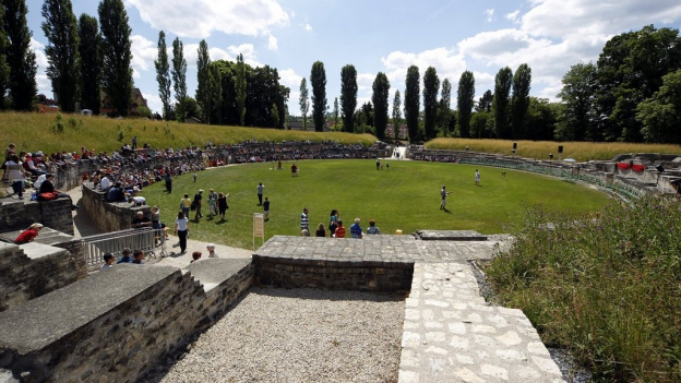 Das Amphitheater Windisch soll verkauft werden. Die Gemeinde hofft auf den Kanton als Käufer.