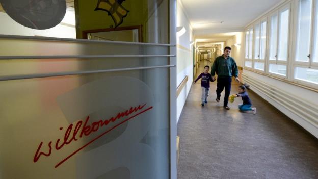 m ehemaligen Pflegeheim neben dem Spital Zofingen leben rund 120 Asylsuchende, alles Familien.