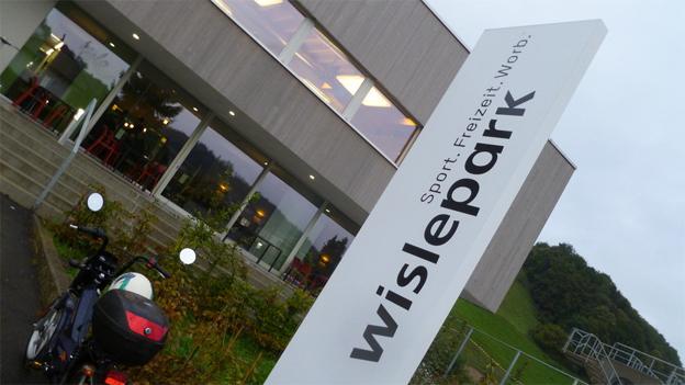Steine des Anstosses: Das neue Sportzentrum in Worb.
