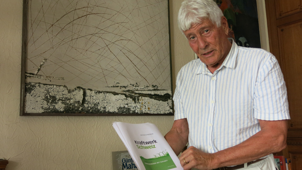 Der Berner Verleger Hugo Ramseyer.