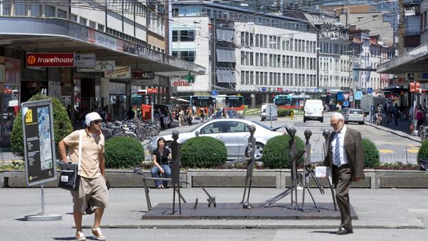 Die Stadt Biel kann ihr Image als Sozialhilfe-Hochburg noch nicht ablegen.