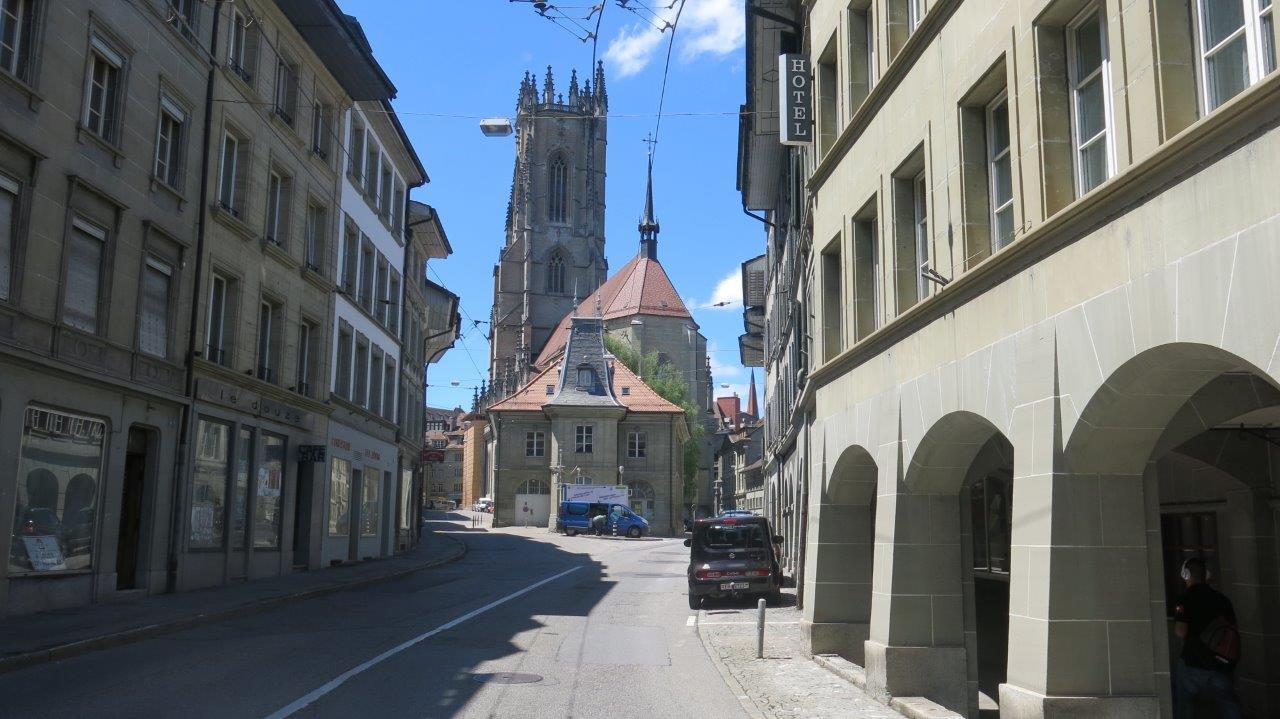 Ziel erreicht: Kaum noch Verkehr um die Kathedrale.