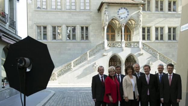 In der Berner Kantonsregierung kommt es 2016 zum grossen Wechsel.