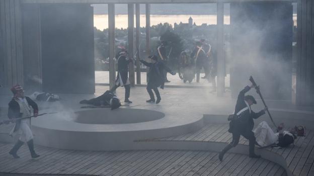 Freilichttheater «Helvetische Revolution» in Murten
