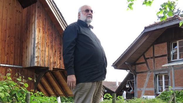 Das Bümplizer Urgestein Hans Stucki.