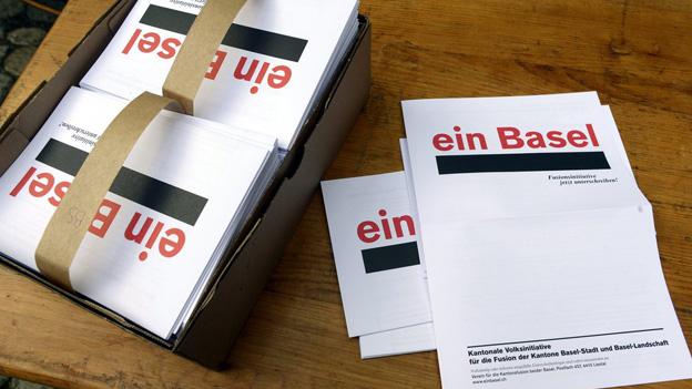 Volksinitiative für die Kantonsfusion.