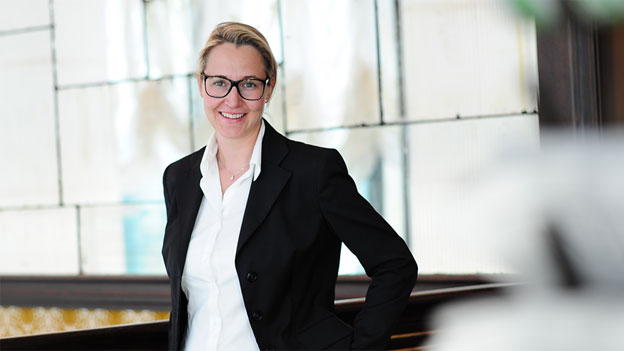 Larissa Bieler, Chefredaktorin des Bündner Tagblatts