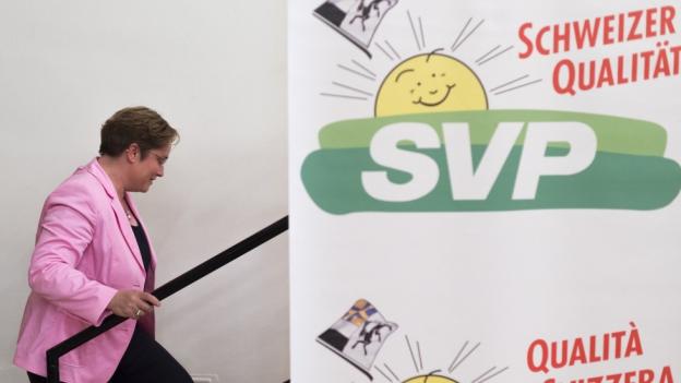 Eine Listenverbindung mit der SVP hätte die Wahlchancen von Magdalena Martullo-Blocher erhöht.