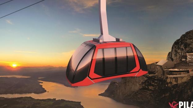 18 Millionen Franken werden in die neue Luftseilbahn auf den Pilatus investiert.