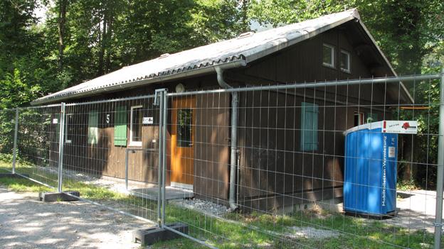 In der ehemaligen Militärunterkunft sollen bis zu 100 Asylsuchende leben