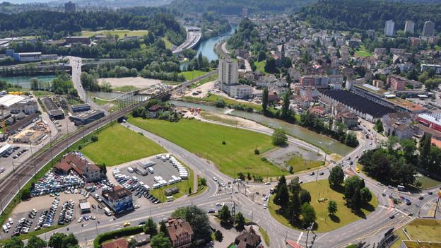 Die Reusseggstrasse in Emmen wird nur neun Monate gesperrt.