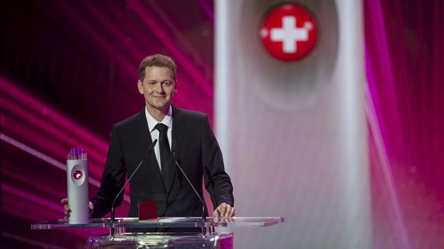 Stöckli-Chef Beni Stöckli jr. freut sich über die Auszeichnung.