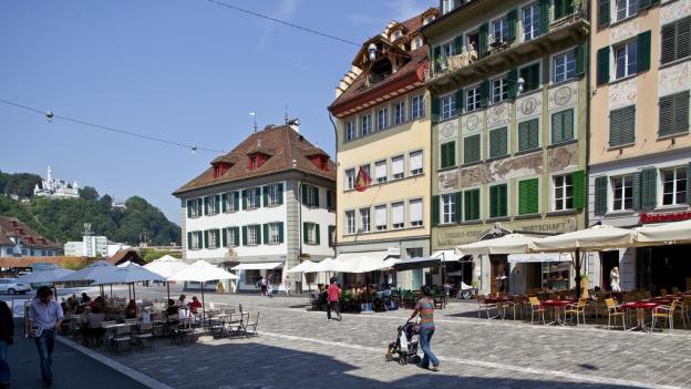 Mühlenplatz in Luzern