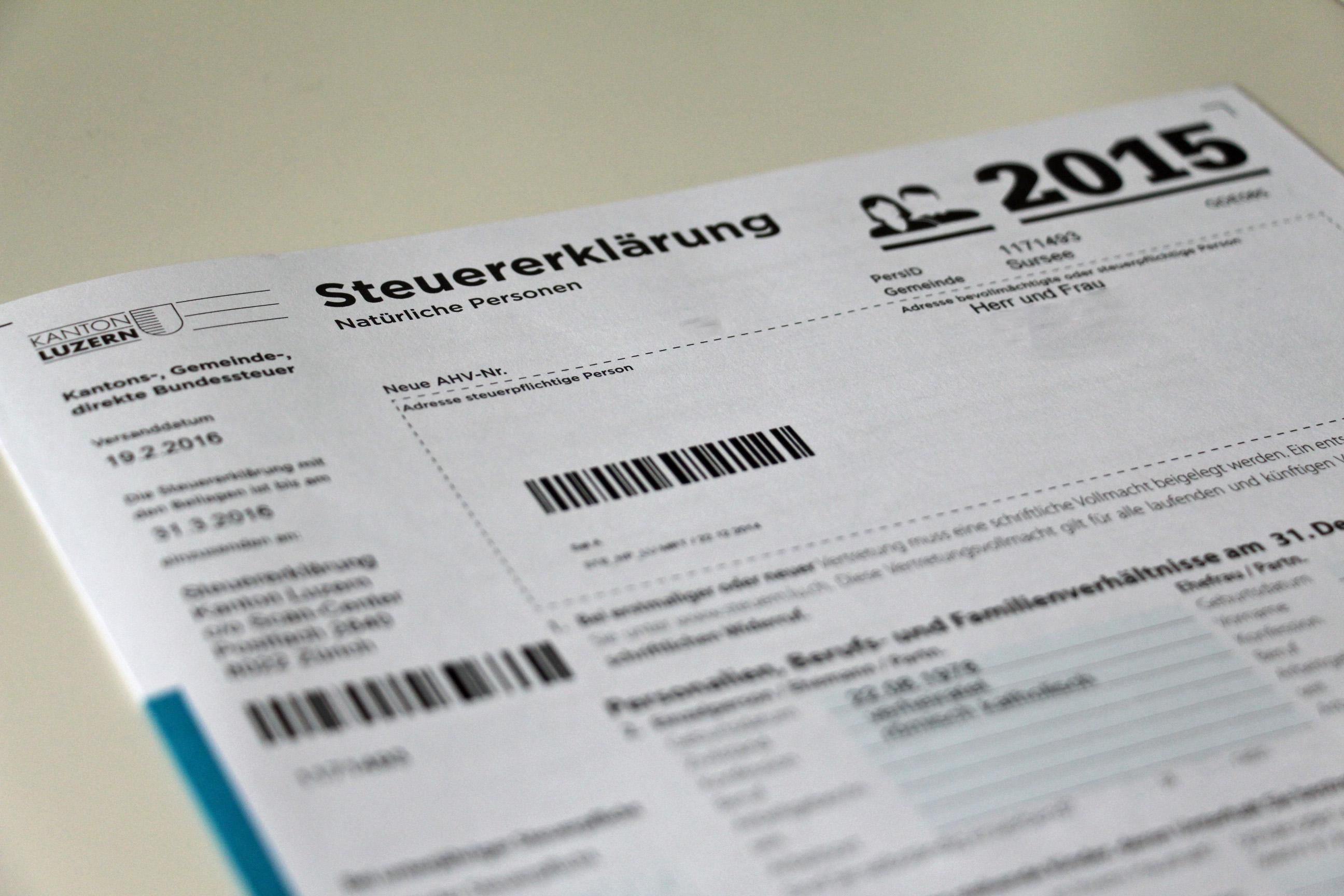 Zurzeit liegt der Steuerfuss bei 1,6 Einheiten.