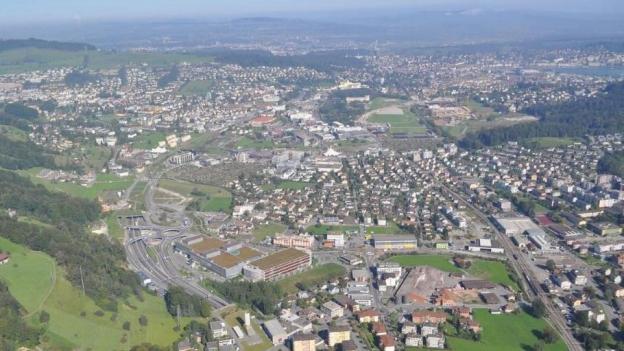 Das Entwicklungsgebiet Luzern Süd.
