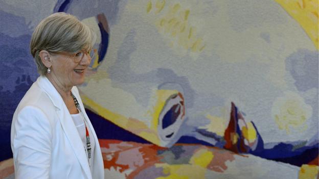 Die Luzerner Sicherheitsdirektorin Yvonne Schärli lanciert die Meldestelle als Pilotprojekt.