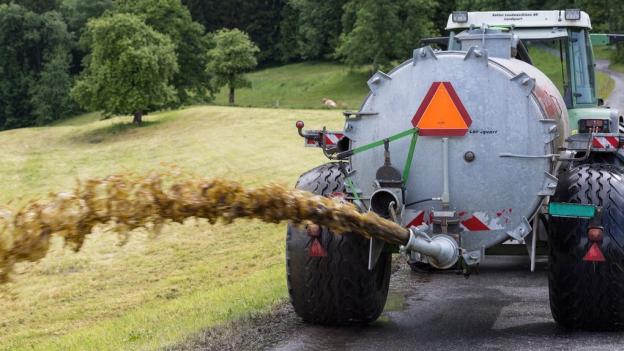 Thurgauer Bauern verfehlen ihre Ziele bei Ammoniakprojket.