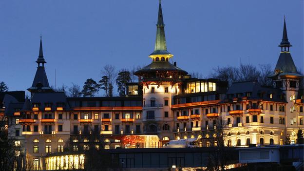 Eines der wenigen Häuser, die vom Festival profitieren: das Grand Hotel Dolder.