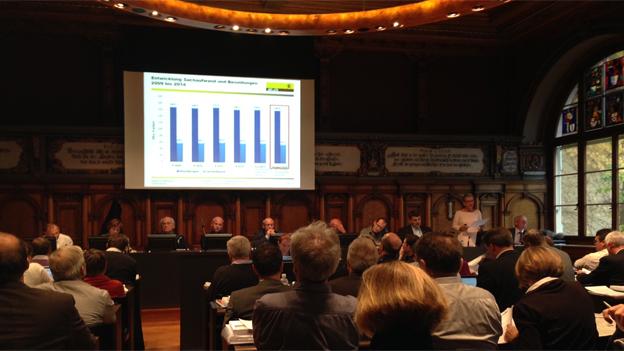 Monsterdebatte: 15 Stunden brütet das Schaffhauser Kantonsparlament über das Budget 2014