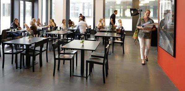 Die Caféteria der Pädagogischen Hochschule Zürich
