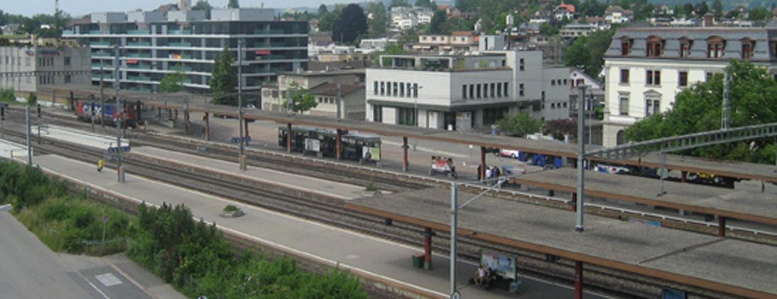 Der Wetziker Bahnhof heute
